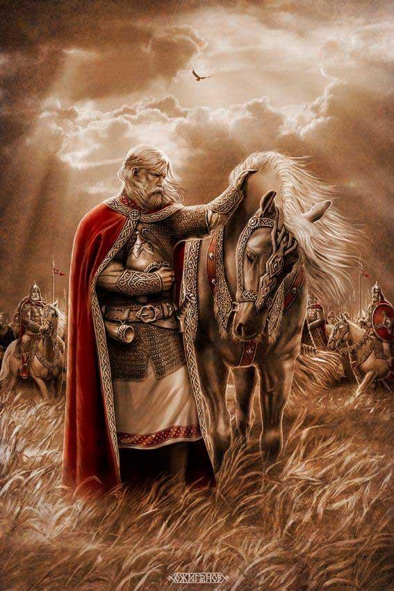 Profético Oleg (Adeus a um Cavalo) | Вещий Олег (прощание с конём) | Igor Ozhiganov