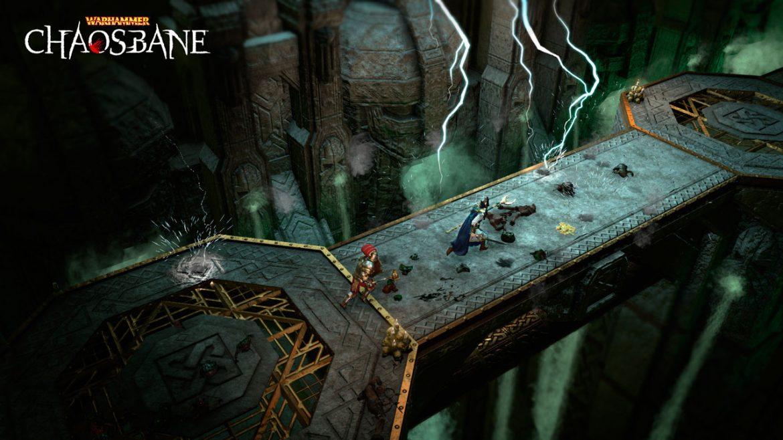 Warhammer: Chaosbane   Eko Software, Action-RPG baseado no universo Warhammer Fantasy da Games Workshop