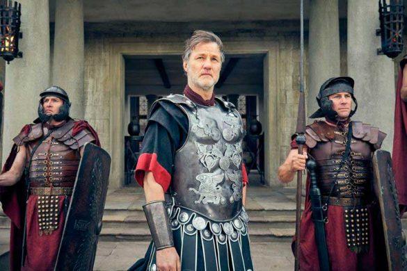 David Morrissey como Aulus Plautius, na segunda temporada de Britannia | Sky
