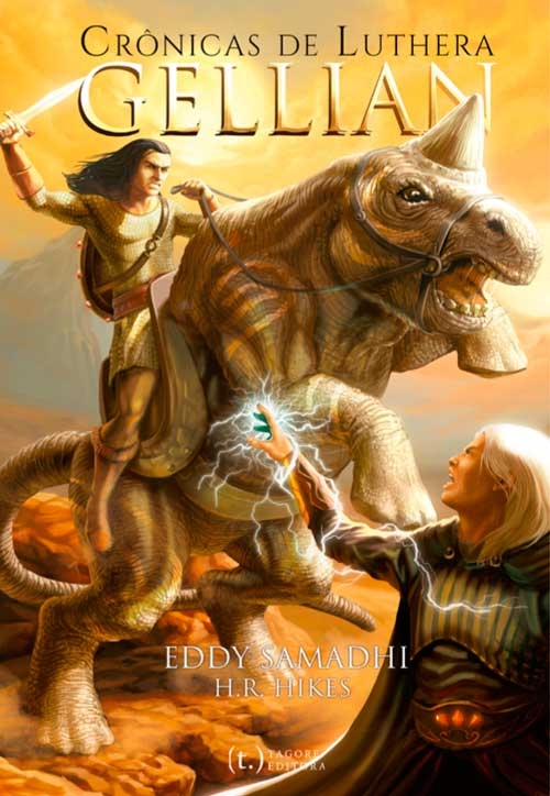 Capa de Crônicas de Luthera - Gellian | Eddy Samadhi & H. R. Hikes | Tagore Editora