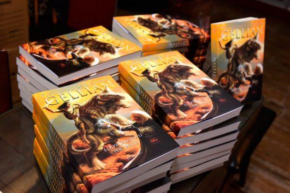 Evento de lançamento de Crônicas de Luthera - Gellian | Foto: Eduardo Lopes